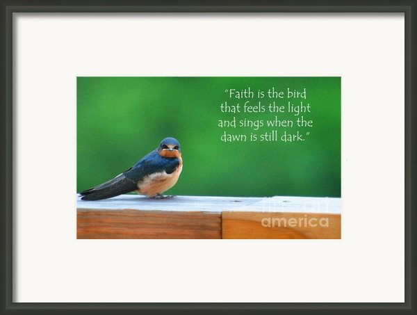 When The Dawn Is Still Dark Framed Print By Diane E Berry