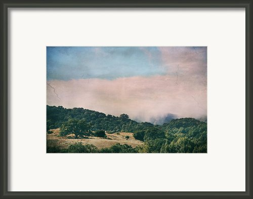 When The Fog Lifts Framed Print By Laurie Search