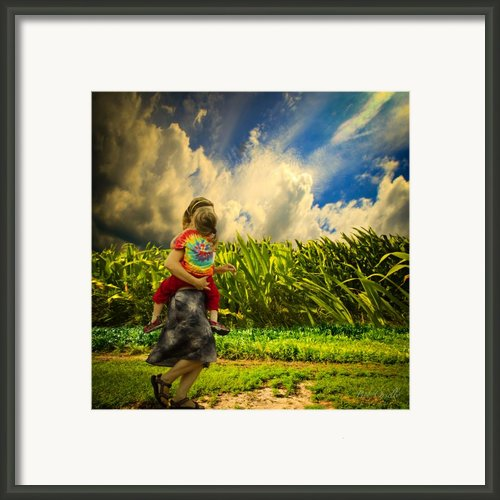 When The Sun Comes After Rain Framed Print By Bob Orsillo