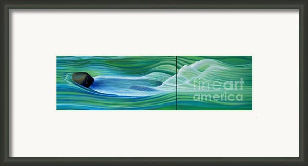 When We Met    Framed Print By Brian  Commerford