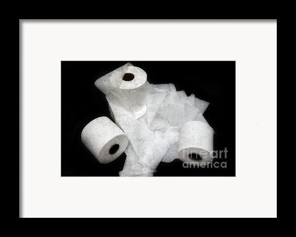Where Is My Spare Roll Hc V2 Framed Print By Andee Design