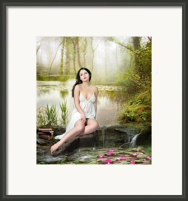 Where Secrets Are Kept Framed Print By Karen Koski