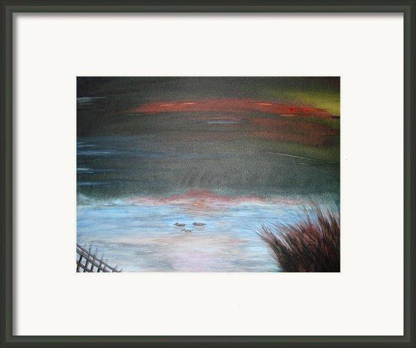 Where The Life Meets The Horizon Framed Print By Prasenjit Dhar