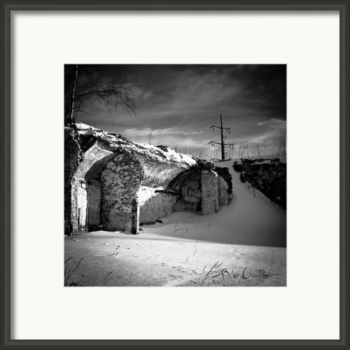 Where The Mill Once Stood Framed Print By Bob Orsillo