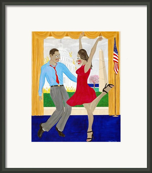 While America Withers Framed Print By Sal Marino
