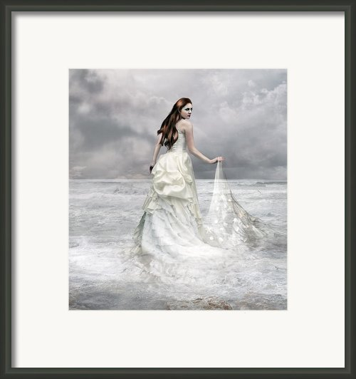 Whispered Waves Framed Print By Karen Koski