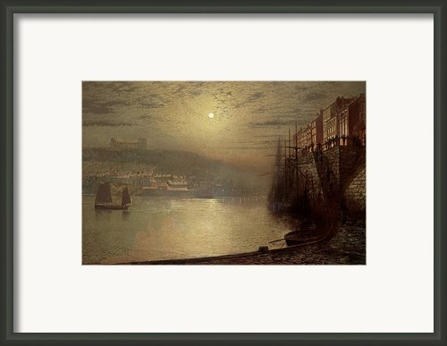 Whitby Framed Print By John Atkinson Grimshaw