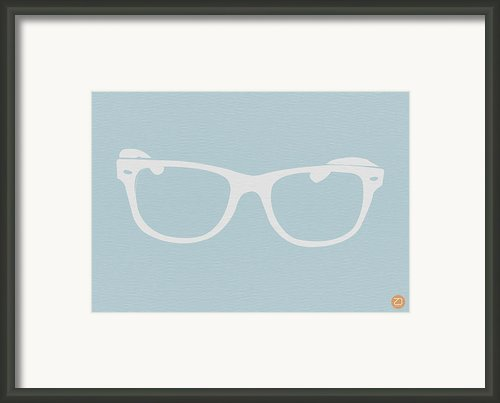 White Glasses Framed Print By Irina  March