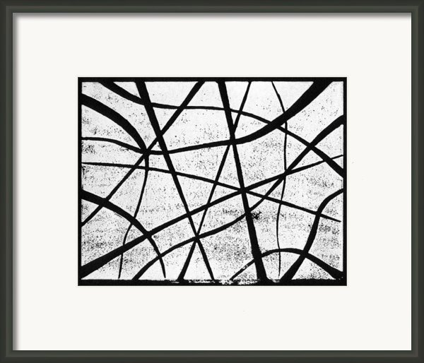 White On Black Framed Print By Hakon Soreide