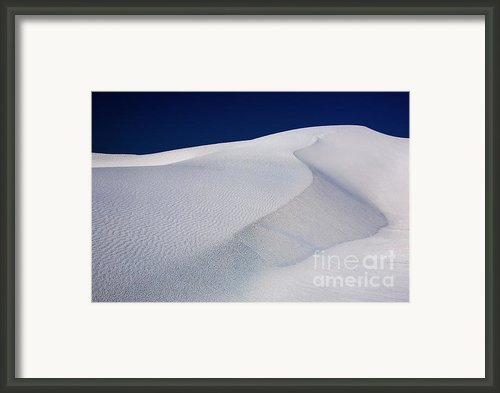 White Sands New Mexico Framed Print By Matt Tilghman