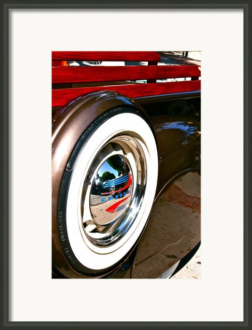 White Wall Framed Print By Gwyn Newcombe