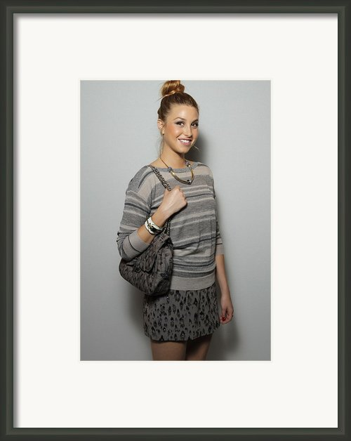 Whitney Port In Attendance For Rebecca Framed Print By Everett