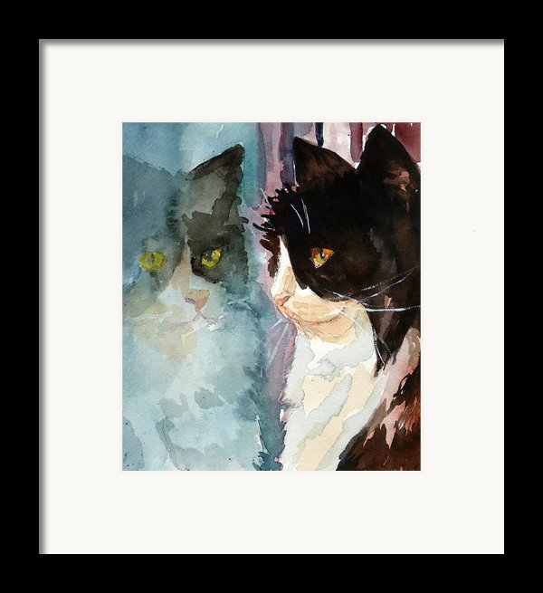 Who Are You Framed Print By P Maure Bausch