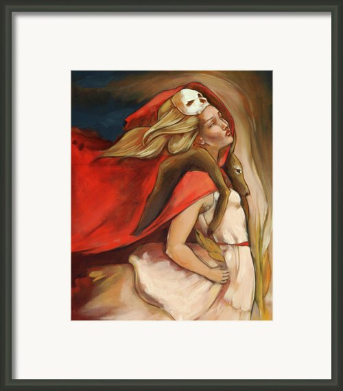 Who Carries Who Framed Print By Jacque Hudson-roate