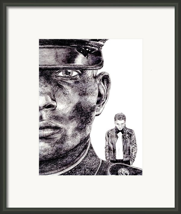 Who Fights Our Wars Framed Print By Blake Grigorian