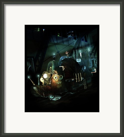 Who Knew Part Two Framed Print By Karen Koski