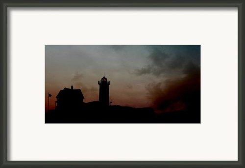 Wicked Dawn Framed Print By Lori Deiter