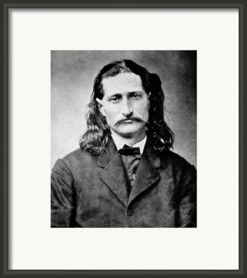 Wild Bill Hickok - American Gunfighter Legend Framed Print By Daniel Hagerman