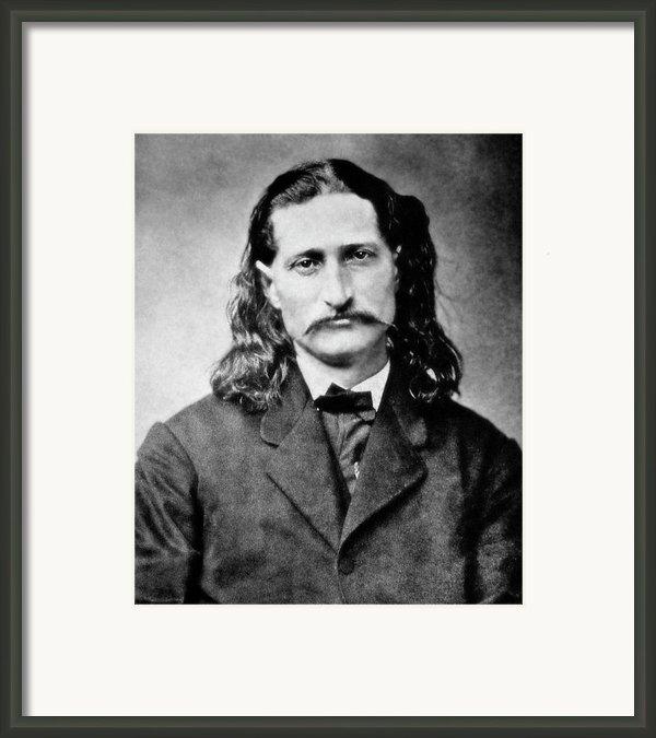 Wild Bill Hickok - American Gunfighter Legend Framed Print By Daniel Hagerman