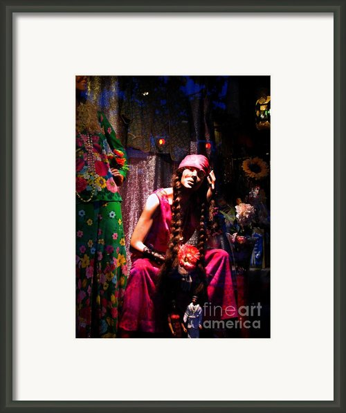 Wild Child Framed Print By Colleen Kammerer