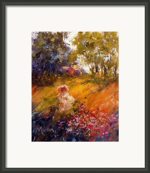 Wildflowers Framed Print By Marie Green