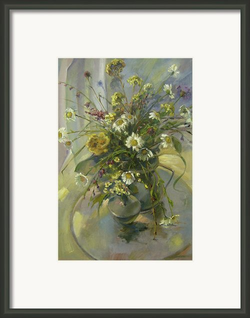 Wildflowers Framed Print By Tigran Ghulyan