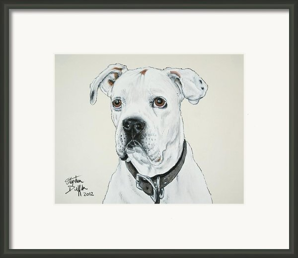Will You Love Me... Framed Print By Stephen Duffin