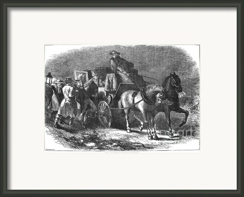 William Morgan (1774-1826) Framed Print By Granger