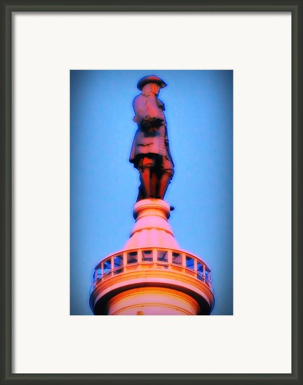William Penn - City Hall In Philadelphia Framed Print By Bill Cannon