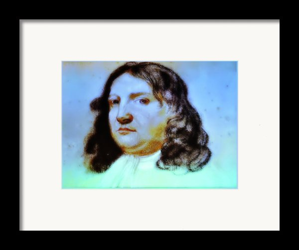 William Penn Portrait Framed Print By Bill Cannon