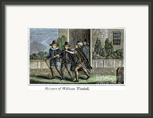 William Tyndale Framed Print By Granger