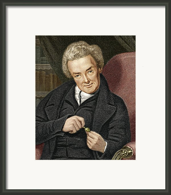 William Wilberforce, British Politician Framed Print By Sheila Terry