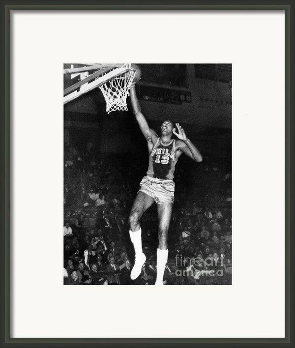 Wilt Chamberlain (1936-1996) Framed Print By Granger