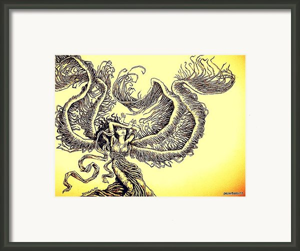 Wind Framed Print By Paulo Zerbato