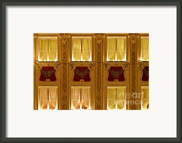 Window Candles Nostalgia Framed Print By Christine Till