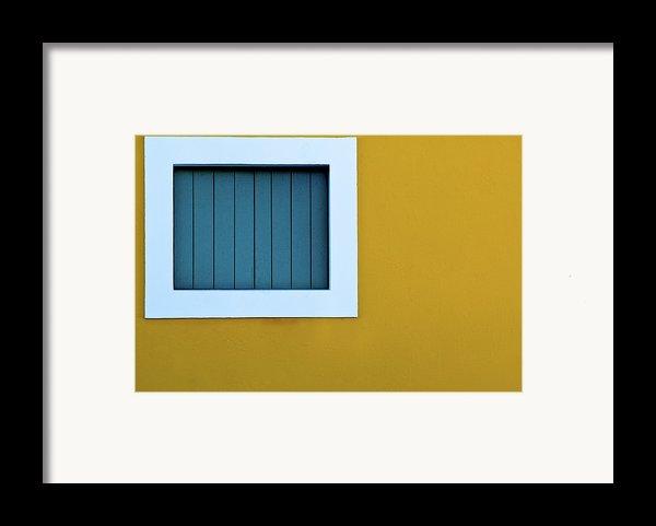 Window Framed Print By L F Ramos-reyes