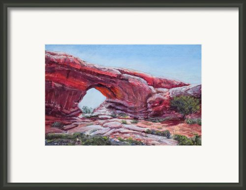 Window Framed Print By Mary Benke