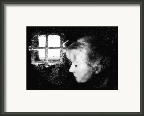 Window To The World Framed Print By Gun Legler