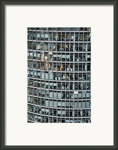 Windows Again, Berlin Framed Print By Eike Maschewski