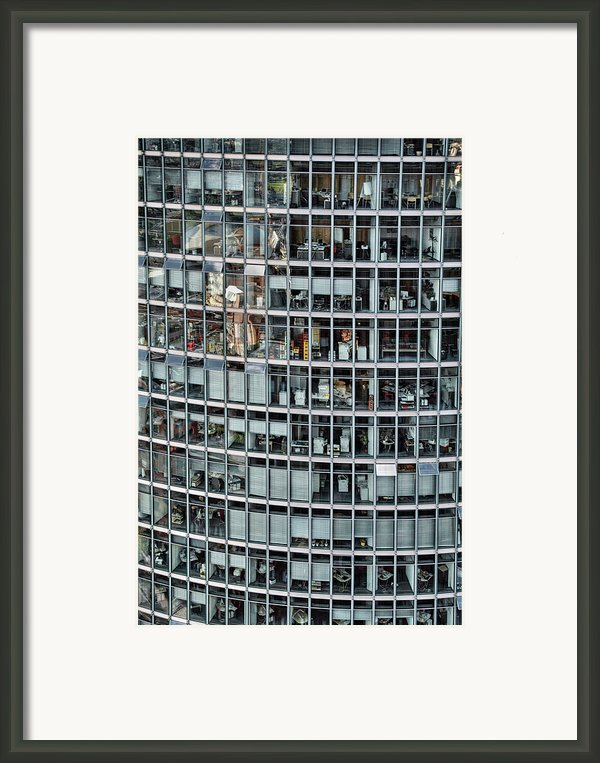 Windows Again, Berlin Framed Print By Eike Maschewski