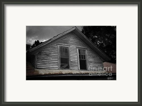 Windows In The Soul Framed Print By Cris Hayes