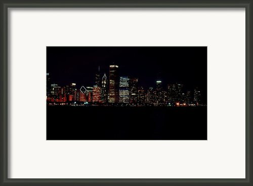 Windy City Lights Framed Print By Emily Stauring
