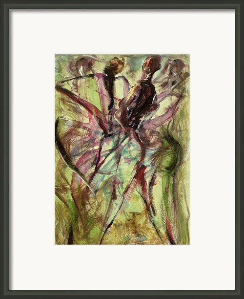 Windy Day Framed Print By Ikahl Beckford