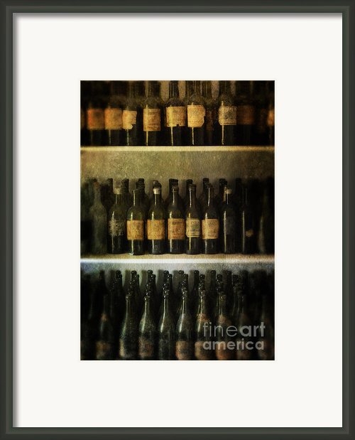 Wine Collection Framed Print By Jill Battaglia