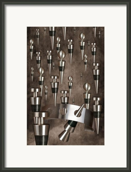 Wine Stopper Storm Framed Print By Tom Mc Nemar