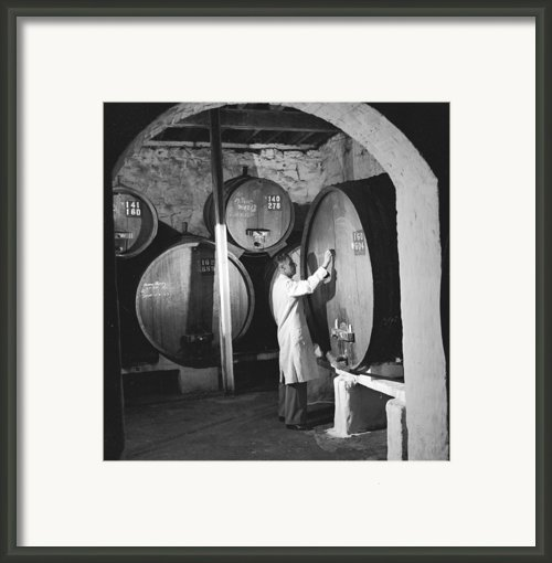 Wine Vaults Framed Print By Ejor