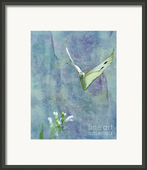 Winging It Framed Print By Betty Larue