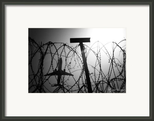 Wings Framed Print By Aunit Sharma