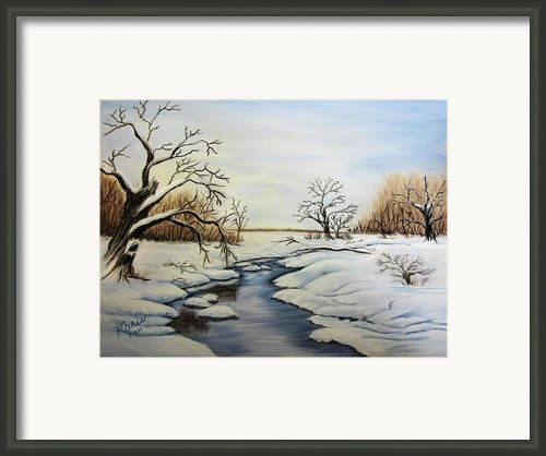Winter 2011 Framed Print By Maris Sherwood