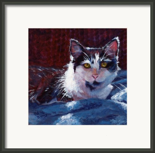 Winter Comfort Framed Print By Pat Burns